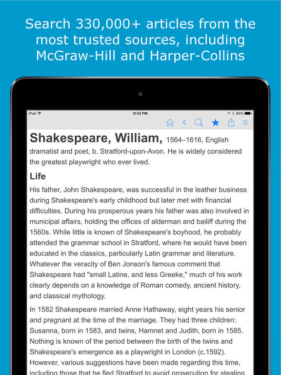 Encyclopedia of World Knowledge - Science, History, Animals, Biographies, Technology and more screenshot