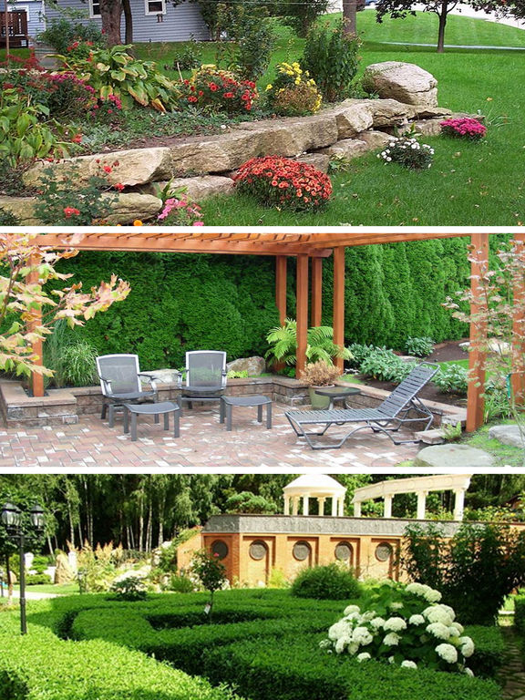 Yard garden design ideas pro landscaping decor for Garden design ideas app