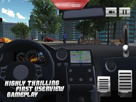 Такси Driver 3D симулятор - Сумасшедший и весело вождение автомобиля и парковка вызов игры Скриншоты10