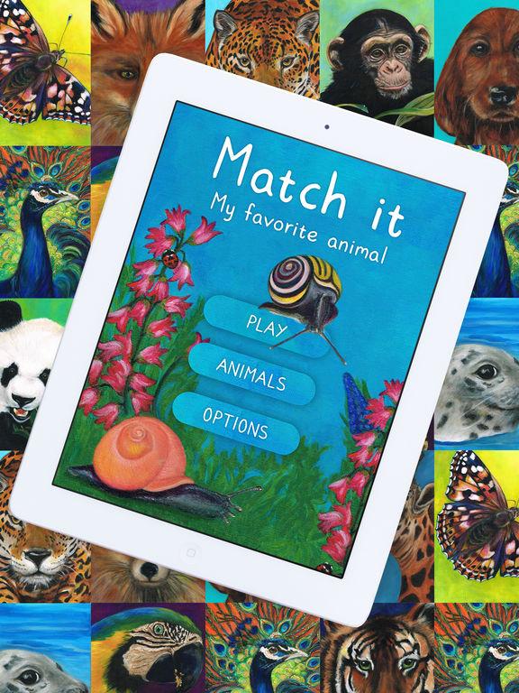 Match it - My favorite animal Screenshot
