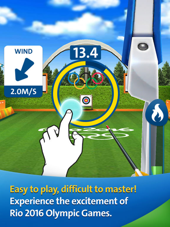 Screenshots of Rio 2016 Olympic Games for iPad