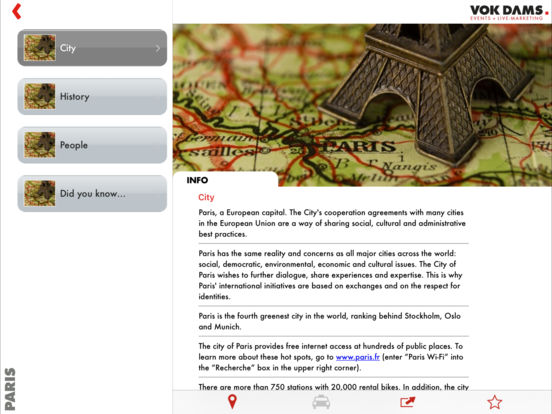 Paris Guide iPad Screenshot 4