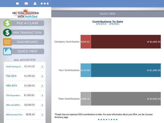 HR Concepts' Mobile Benefits iPad Screenshot 4