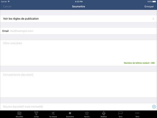 Se Coucher Moins Bête iPad Screenshot 5