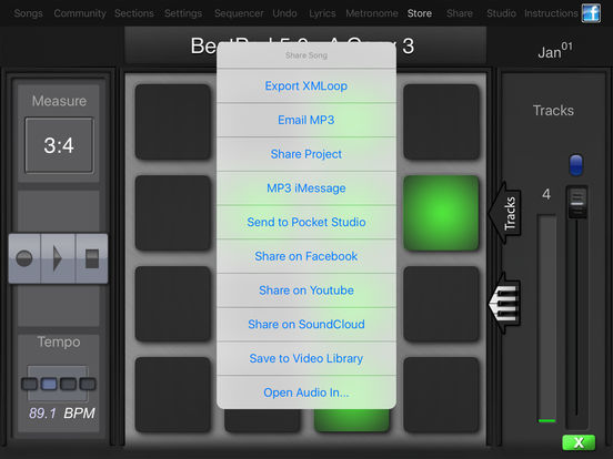 BeatPad iPad Screenshot 5