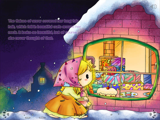 iBigToy Interactive Book-The Little Match Girl HD iPad Screenshot 1