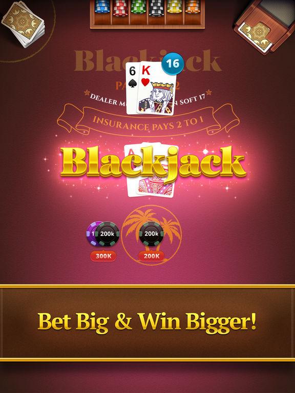 Blackjack ipad app
