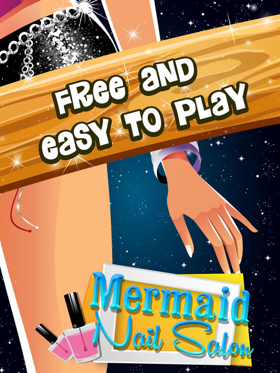 App shopper mermaid nail salon winter castle christmas for 33 fingers salon