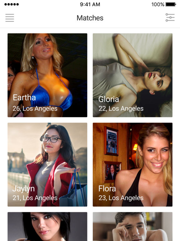 Flirt Hookup Dating      NSA Dating App on the App Store iPad Screenshot