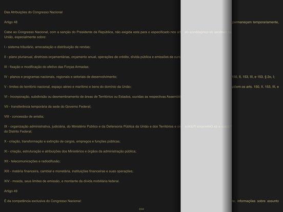 Constituição da República Federativa do Brasil iPad Screenshot 2