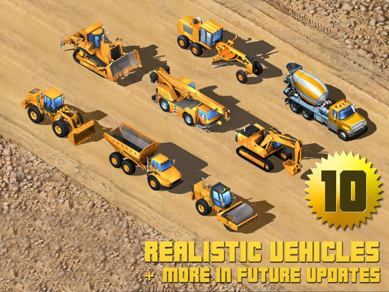 Kids Vehicles: Construction HD for the iPad Screenshots