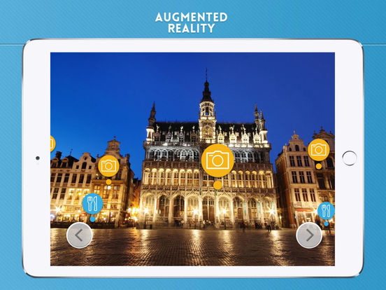 Brussels Travel Guide iPad Screenshot 2