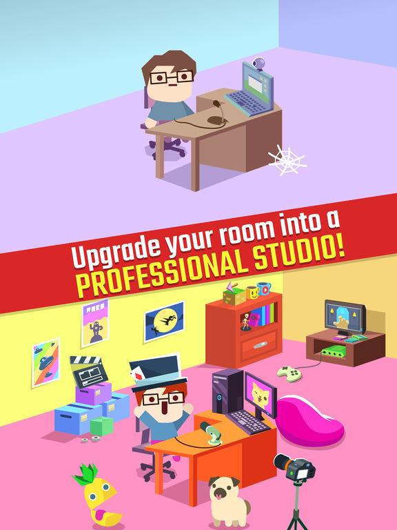 Vlogger Go Viral - Clicker Game & Vlog Simulatorscreeshot 3