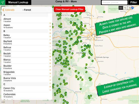 Camp & RV iPad Screenshot 4