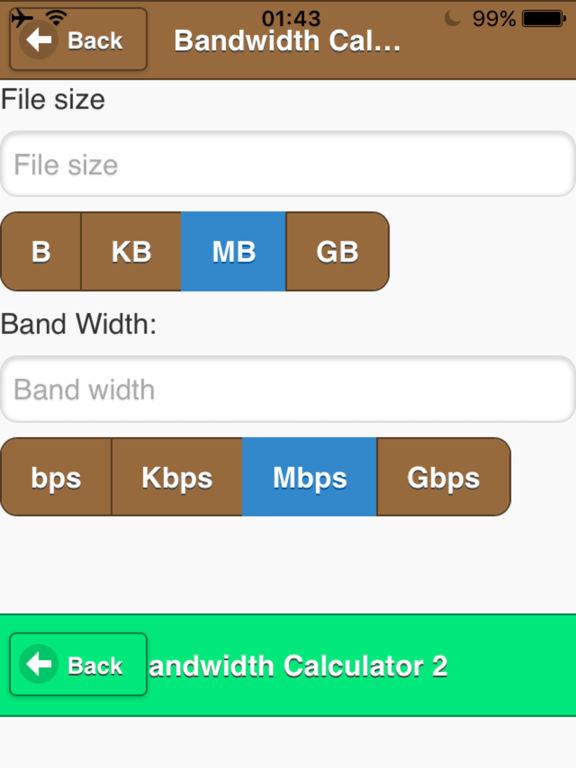 App Shopper Bandwidth Raid Calculator Utilities