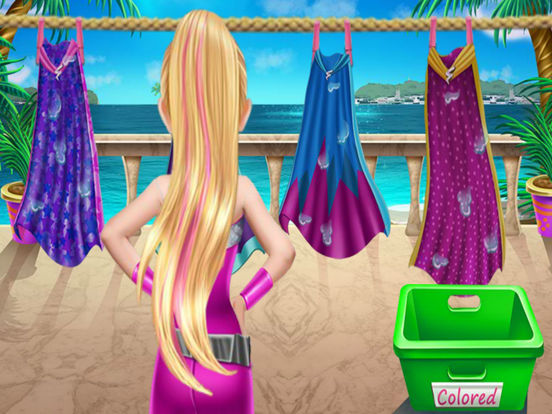 Super Princess Washing Capes-ipad-1