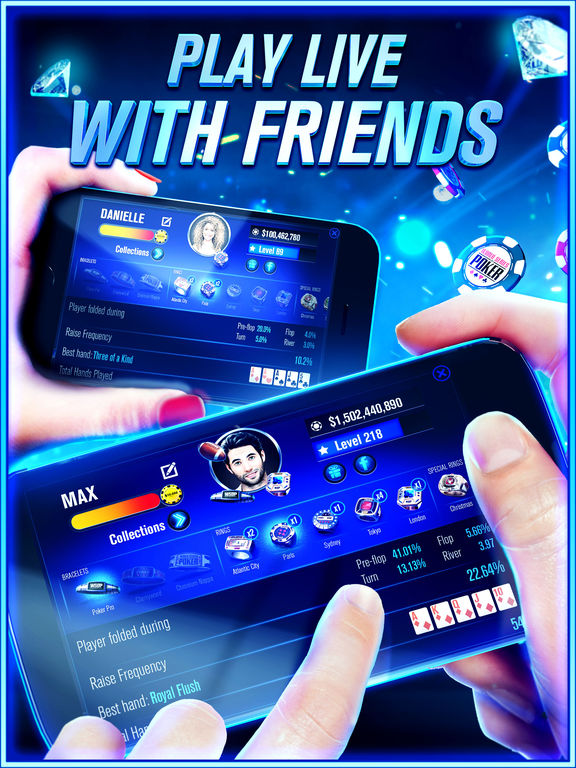 Screenshots of World Series of Poker - WSOP Texas Holdem Free Casino for iPad