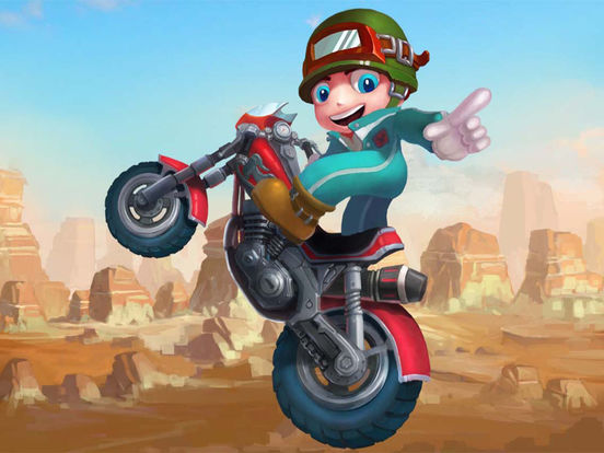 Moto Racing Super Star Games-ipad-0