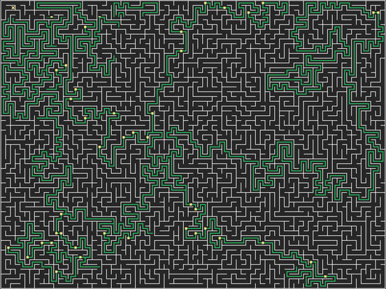 Mazy : Swipe to solve mazes Screenshots