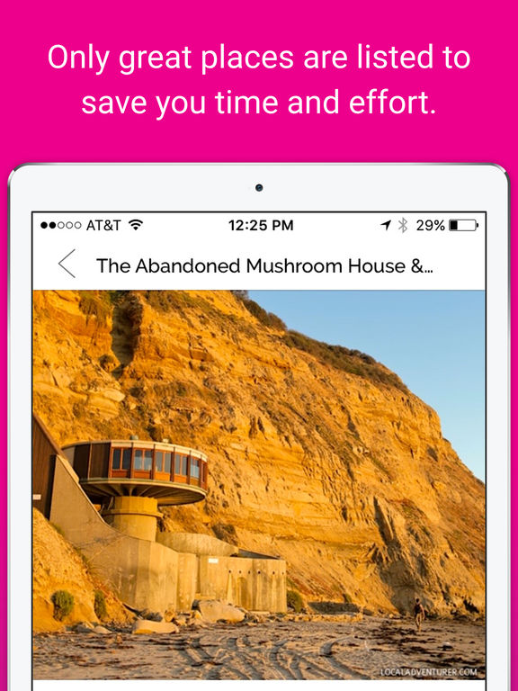 Findout - Local Road Trip Guidebook screenshot