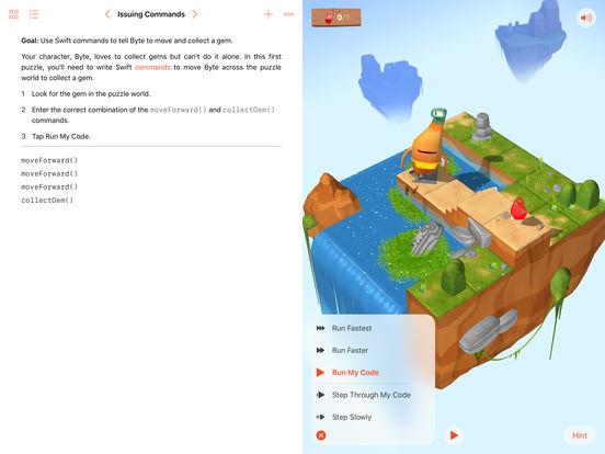 Swift Playgrounds Screenshot
