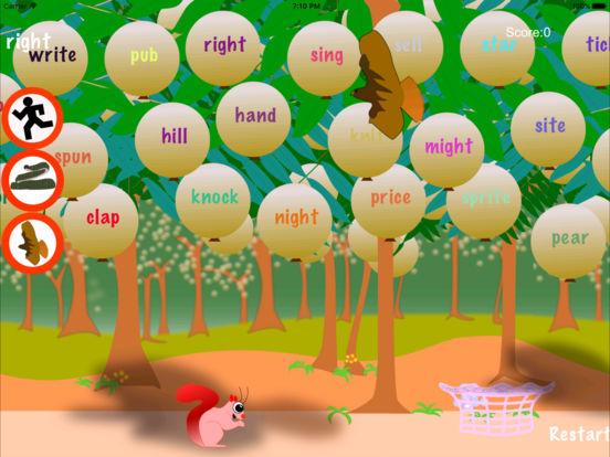 Squirrel Sight Words Screenshots