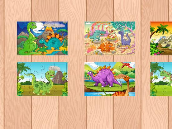 Мультфильм Дино Динозавр Пазлы Jigsaw игры Скриншоты5