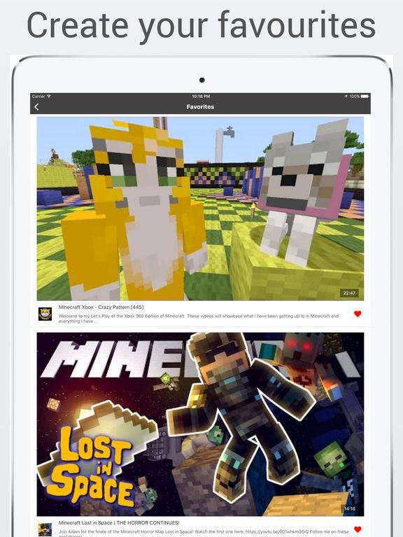MineHub - Best videos and tutorials for Minecraft Screenshots