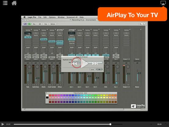 MPV's Logic Pro 101 Tutorial iPad Screenshot 4