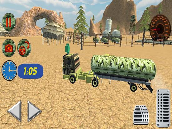 Off Road Army Oil Truck Drive screenshot 7