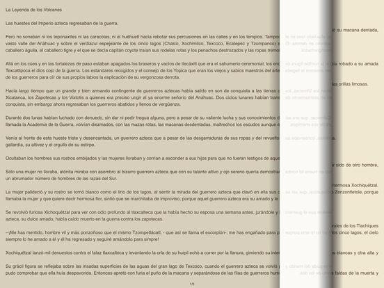 Mitos y Leyendas de México iPad Screenshot 1