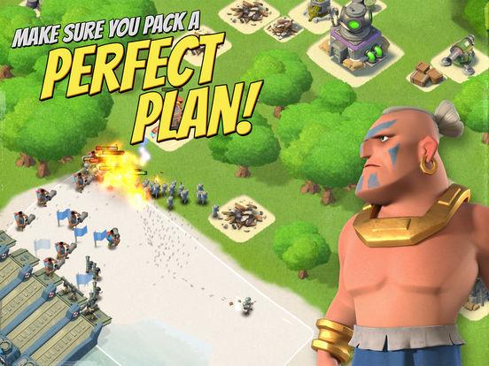 Screenshots of Boom Beach for iPad