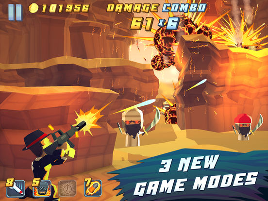 Screenshots of Major Mayhem for iPad