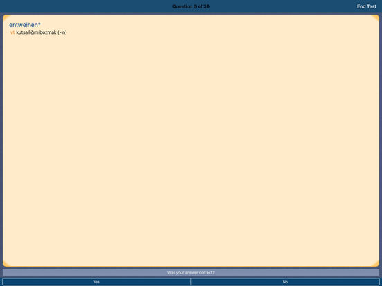 MSDict Compact Turkish Dictionary iPad Screenshot 5