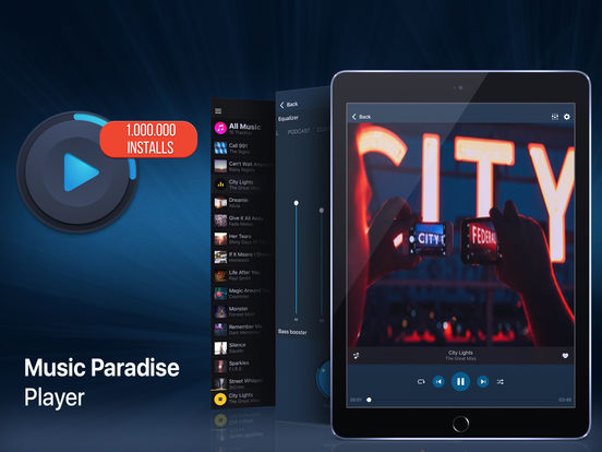 Music Paradise Player Pro Screenshots