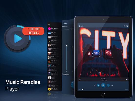 Music Paradise Player Plus Screenshots