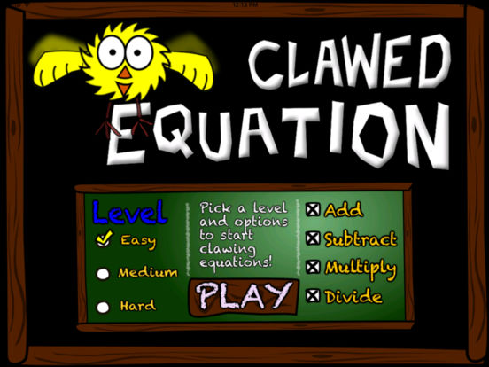 Clawed Equation iPad Screenshot 1