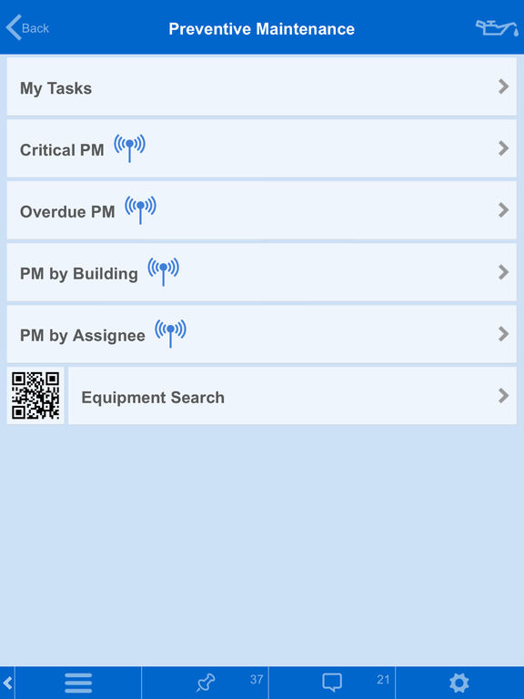 Building Engines Mobile App