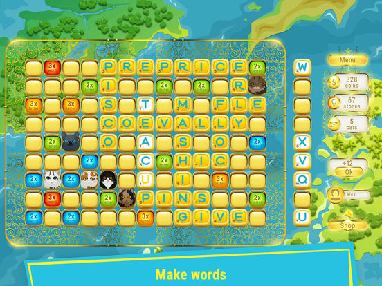 Studio Master Key releases Scrabble Kingdom 1.0 for iOS - New Word Game Image
