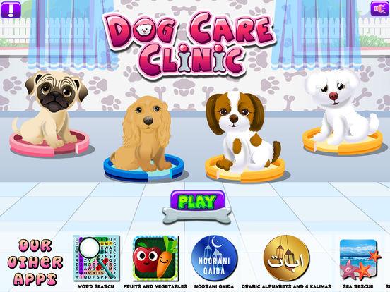 Dog Pet Cares Clinic на iPad