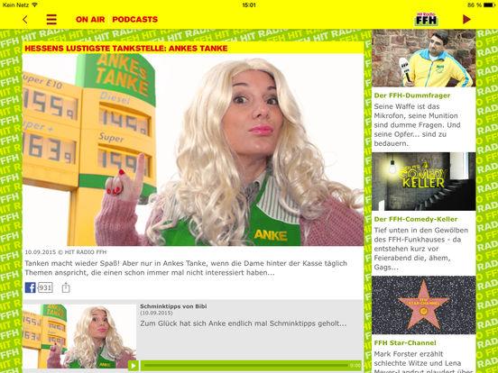 HIT RADIO FFH 2.0 iPad Screenshot 4