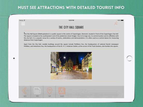 Copenhagen: Travel Guide iPad Screenshot 3