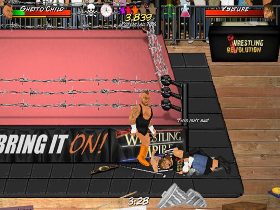 Booking Revolution HD (Wrestling) на iPad