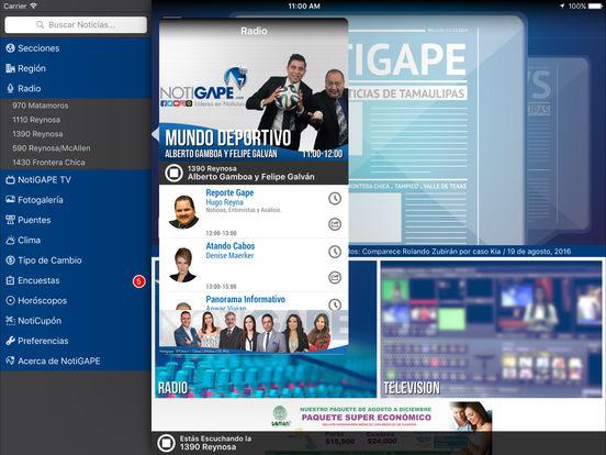 NOTIGAPE iPad Screenshot 4