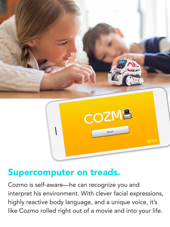 Screenshots of Cozmo ® for iPad