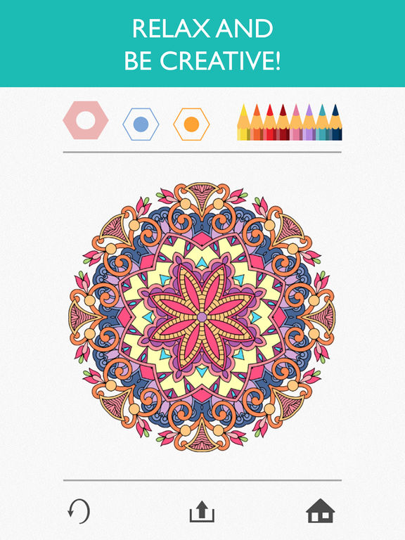 Screenshots of Colorfy: Coloring Book for Adults - Free for iPad