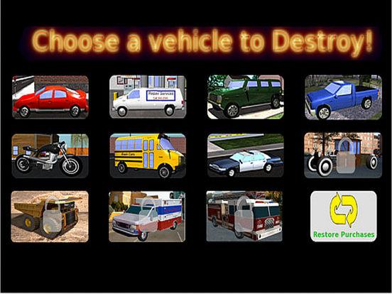 iBash Cars Lite iPad Screenshot 2