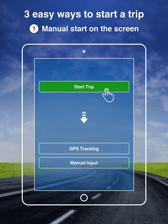 TripLog - GPS Mileage Log Tracker screenshot