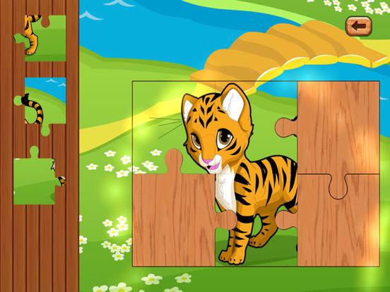 Mega Animal Jigsaw Puzzle & Baby Game Toddler Kid