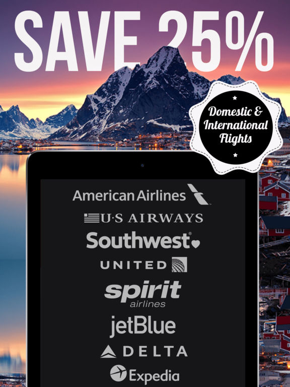 App shopper cheap airline tickets and airfare deals for Spirit airlines ticket prices